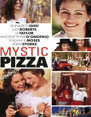Poster Of Mystic Pizza 1988 English 450MB BluRay 720p ESubs HEVC Free Download Watch Online Downloadhub.Net