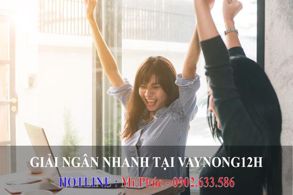 Giải ngân vay tiền nhanh tại Hồ Chí Minh