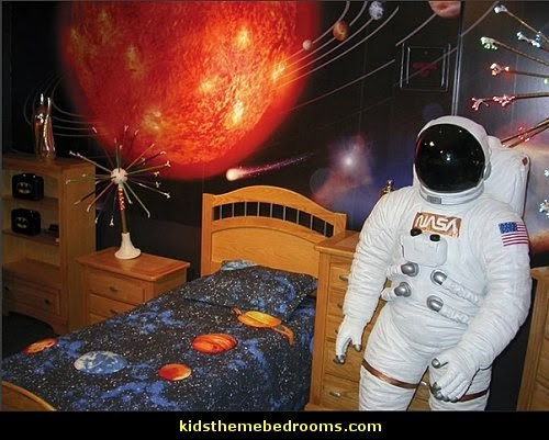 space and astronomy wall murals  outer space themed bedroom decorating ideas  Solar System  bedroom decorating Space Shuttle kids bedroom ideas  Astronaut Space Man  Wall Decals  Astronaut costumes