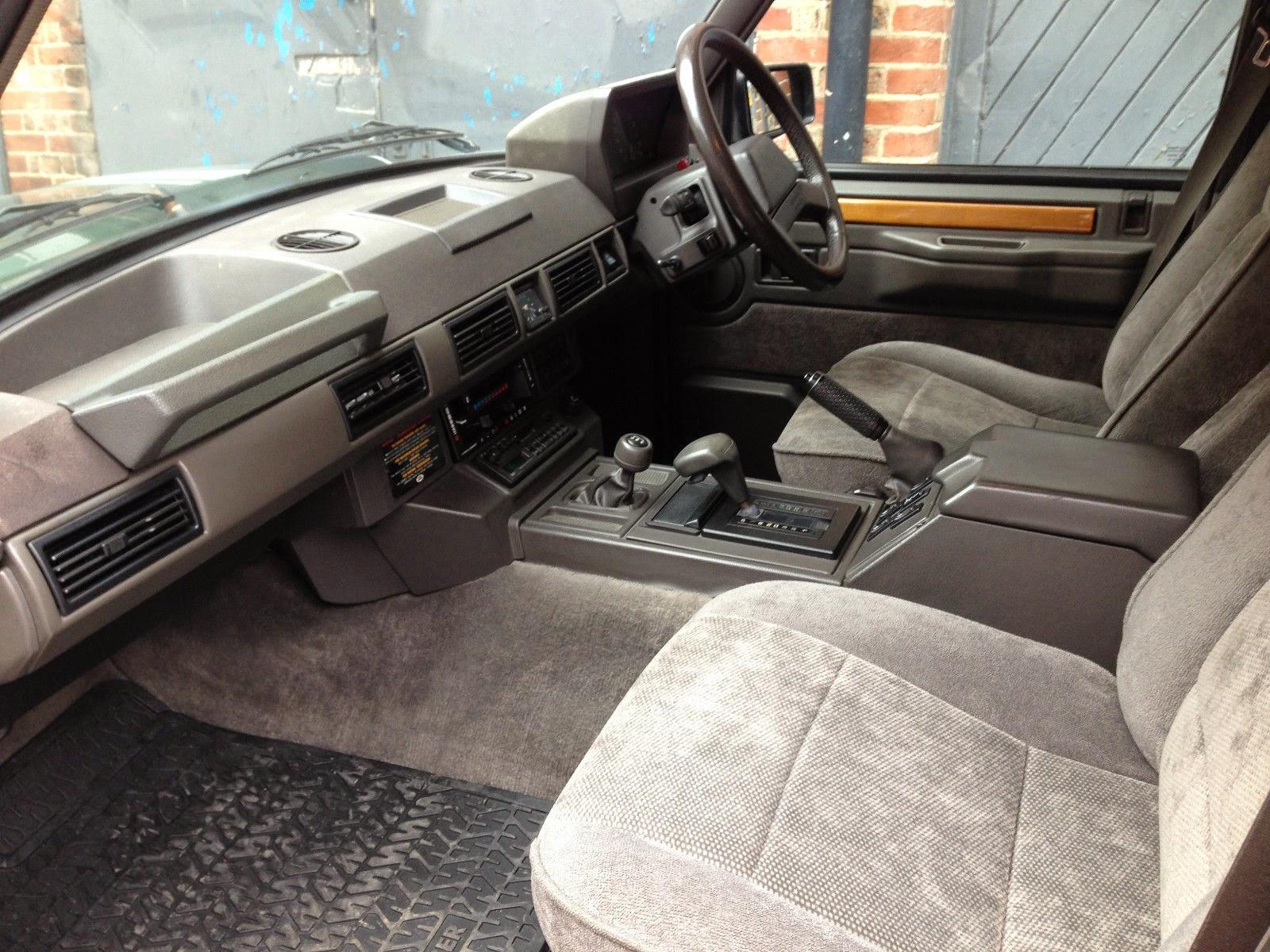 1990 Land Rover Range Rover Vogue Auto Restorationice