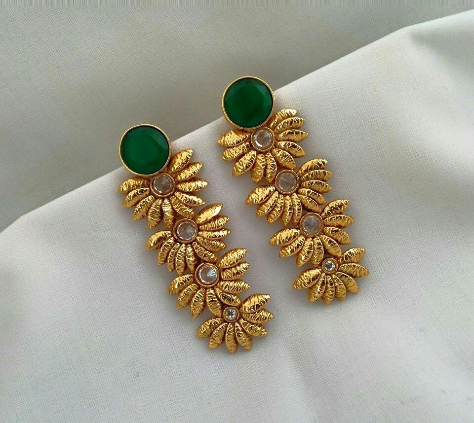 Fancy Golden Earring Designs