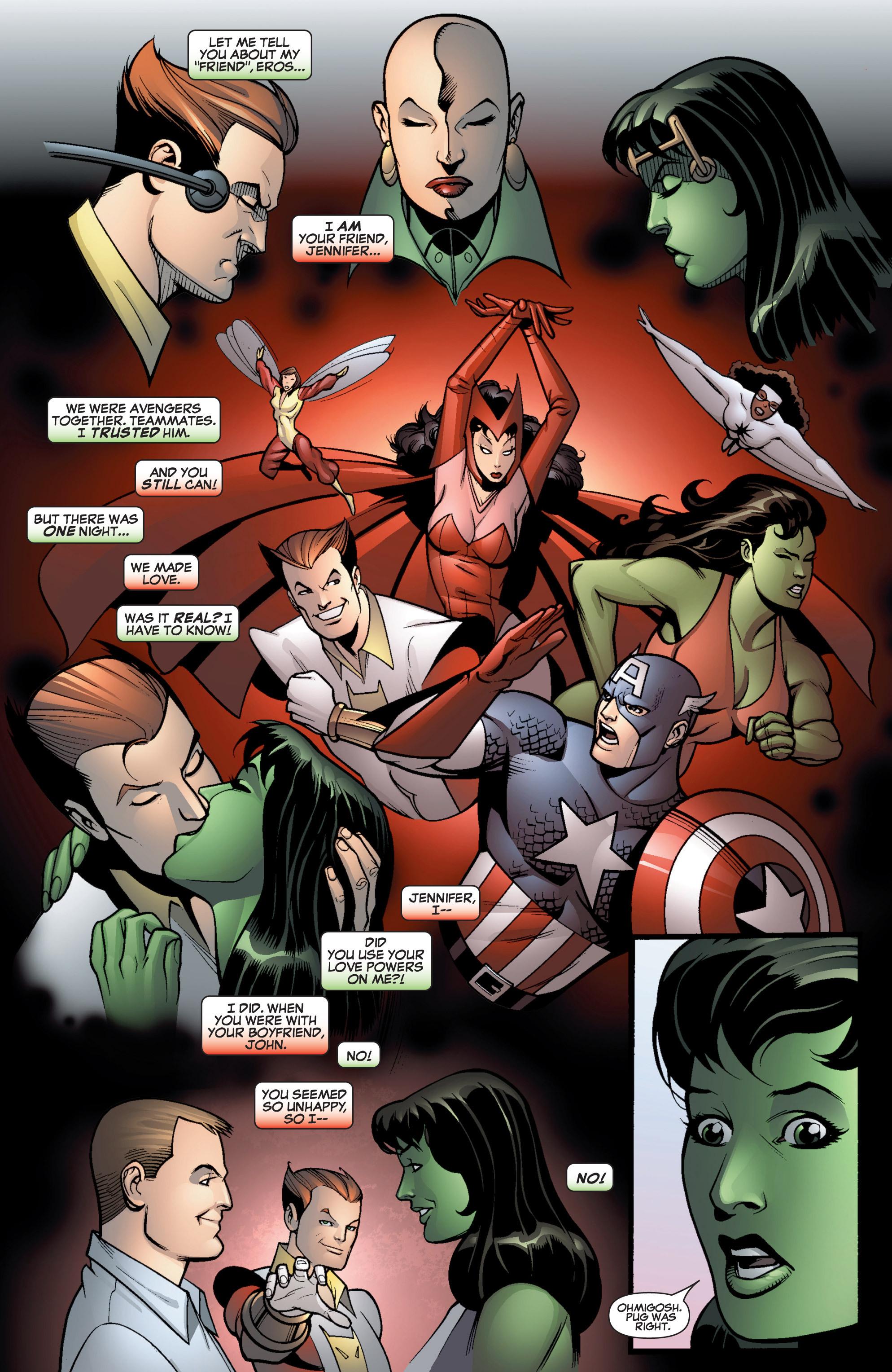 Read online She-Hulk (2005) comic -  Issue #12 - 16