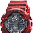 Casio - G-Shock - GA100CM Camouflage Series - Red - GA100CM-4A Review
