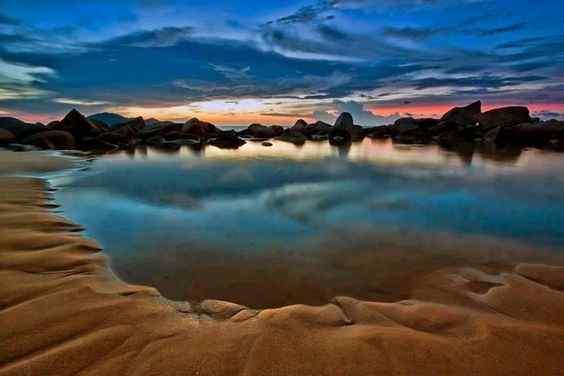 pantai kura-kura singkawang, kalimantan barat