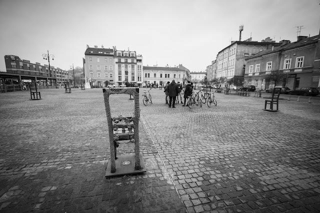 Piazza dedicata agli eroi del ghetto-Cracovia