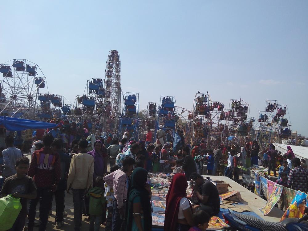 enthusiasm-shown-in-the-Bhagoria-भगोरिया में दिखा उत्साह, ढोल-मांदल पर थिरके जिलेवासी