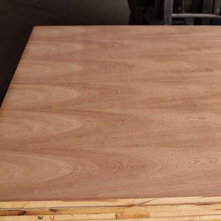Ván gỗ phủ veneer gỗ Xoan Đào