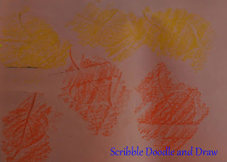 kids craft create a fall placemat with leaf rubbings