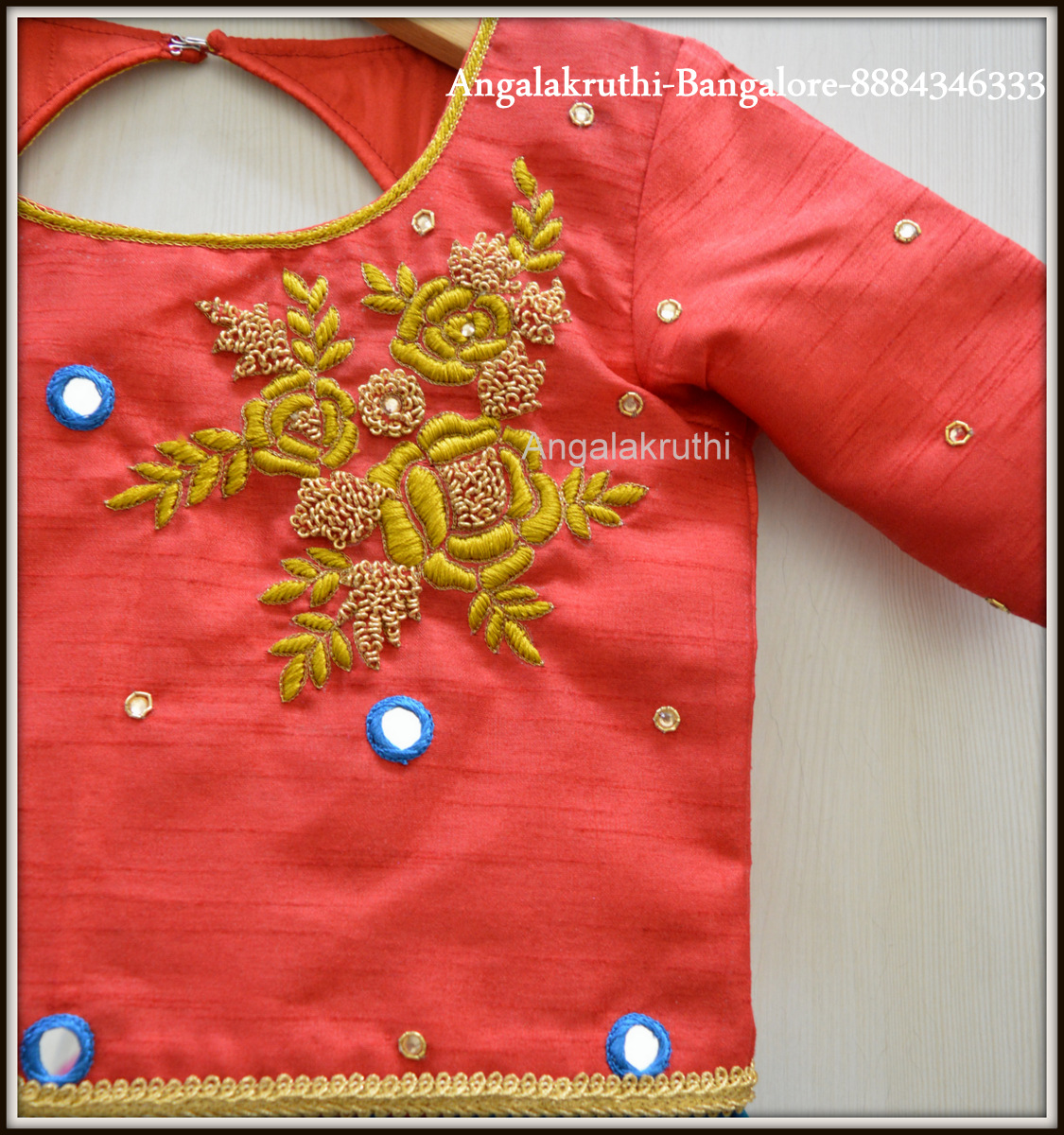 Bridal Hand Embroidery Blouse Designs By Angalakruthi Ladies And
