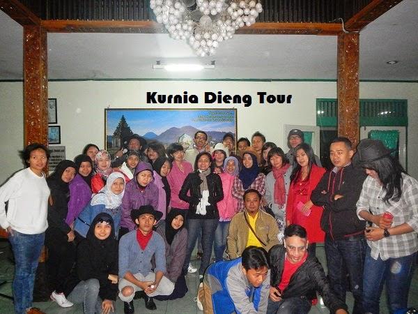 gathering kantor di dieng