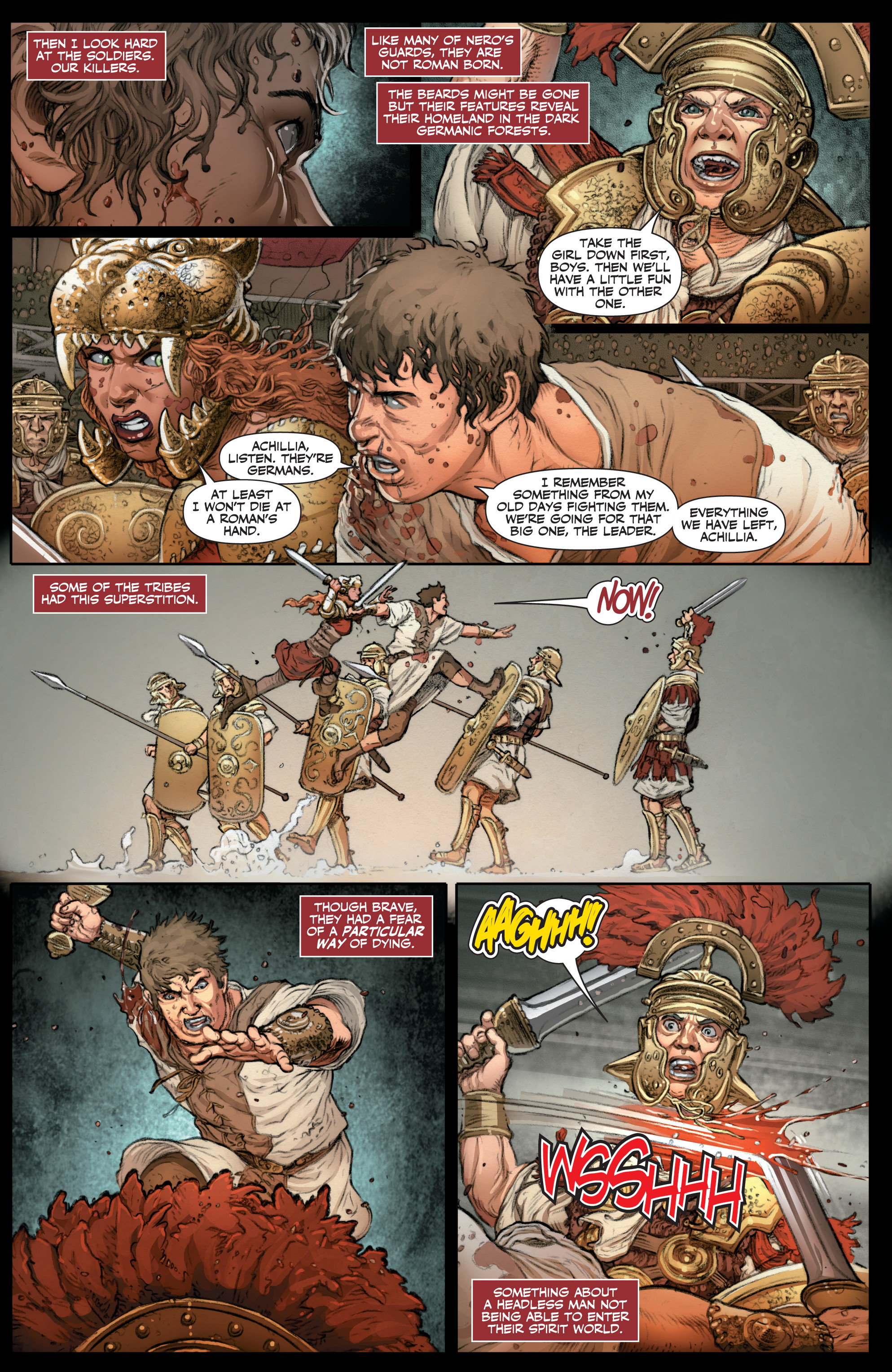 Read online Britannia: We Who Are About To Die comic -  Issue #3 - 10