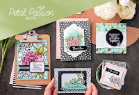 Look more closely at the Petal Passion Product Suite by Stampin' Up!