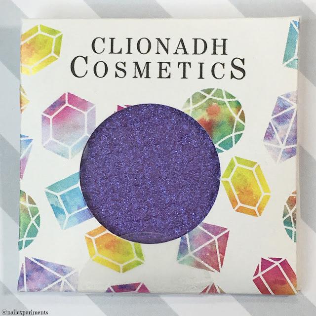 clionadh cosmetics alexandrite eyeshadow swatch birthstone saga