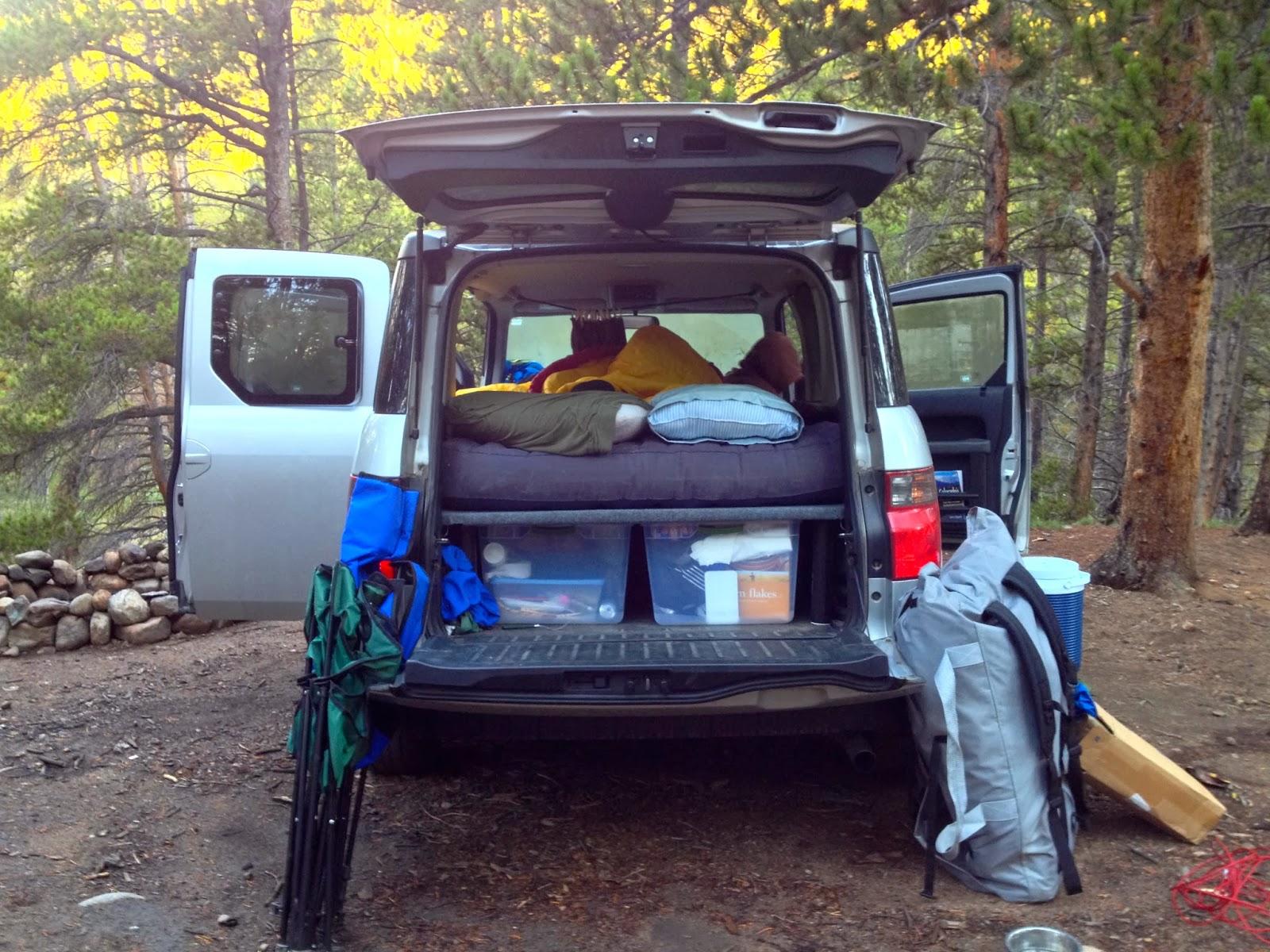 colorado adventures honda element camper platform. Black Bedroom Furniture Sets. Home Design Ideas