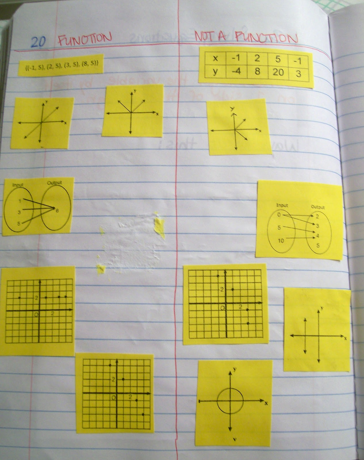 Math = Love: Interactive Notebook Pages of Late (Algebra 1 ...