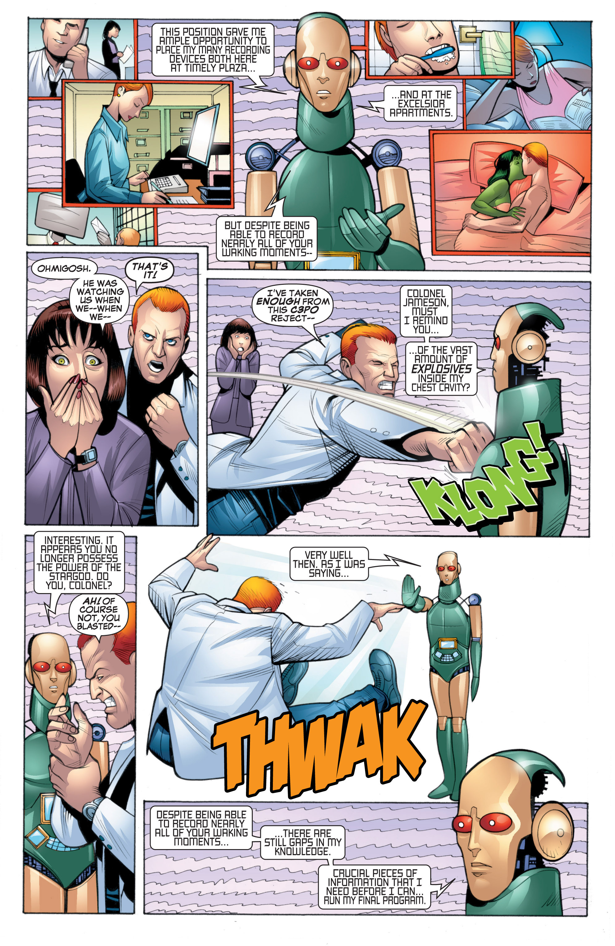 Read online She-Hulk (2005) comic -  Issue #20 - 12