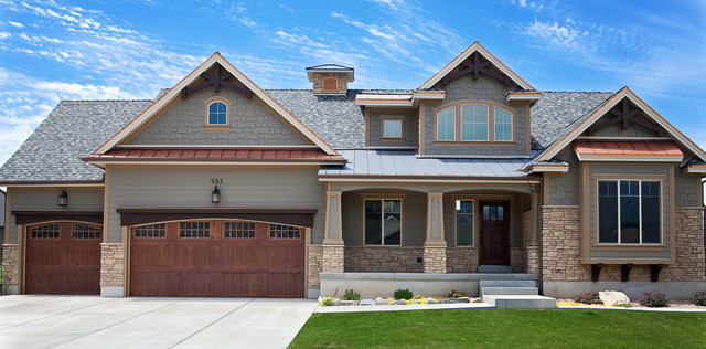 I am dreaming of building a custom home for New construction craftsman style homes