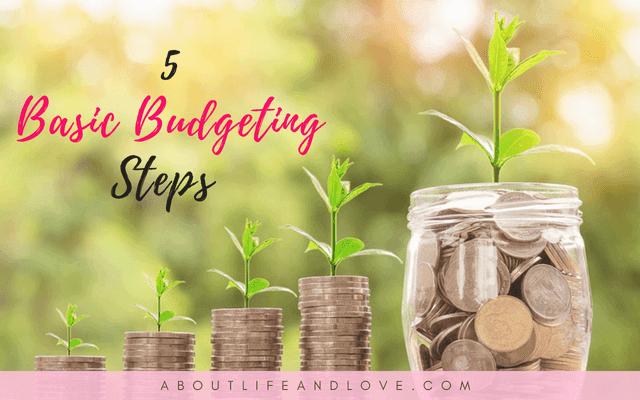 5 Basic Budgeting Steps