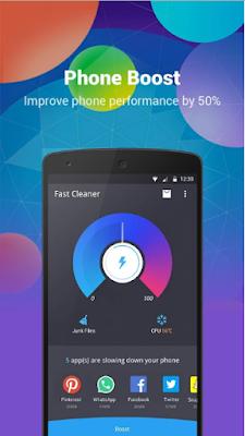 Revisión de la APP Fast Cleaner - Speed Booster