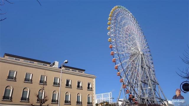 Tempozan Giant Ferriz Wheel di Osaka