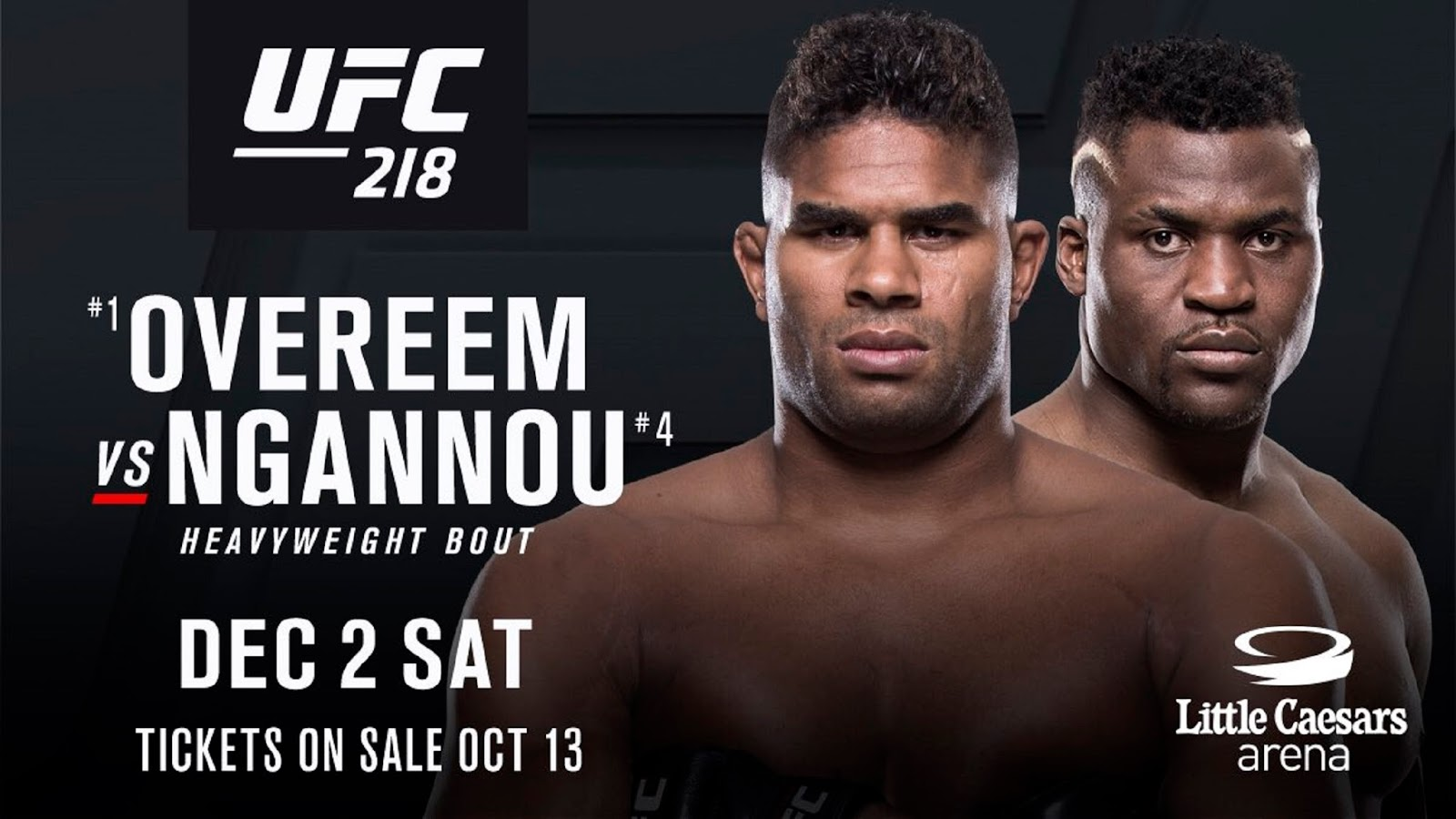 ALISTAIR OVEREEM VS FRANCIS NGANNOU 2