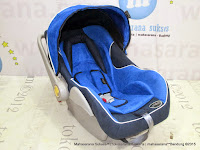 Infant Car Seat Pliko PK02 Carrier Blue Navy Blue