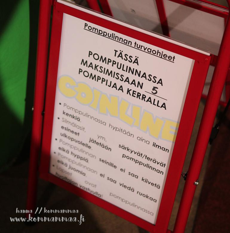 suomen suurin sisähuvipuisto sisäleikkipuisto helsingin messukeskus pomppulinnataivas