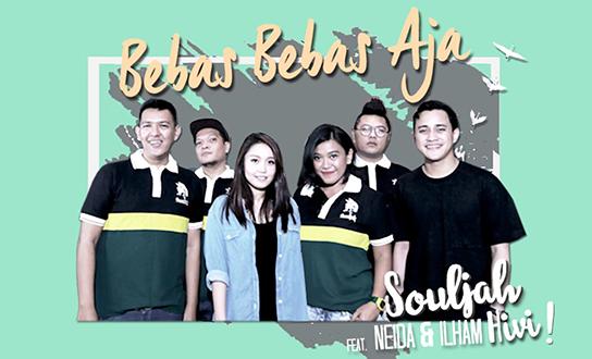 Lirik Lagu Bebas Bebas Aja - Souljah feat Neida dan Ilham Hivi!