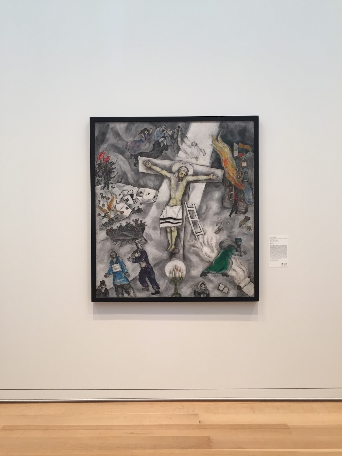 Pope Francis' favorite painting, Chagall's White ... Chagall White Crucifixion Pope Francis