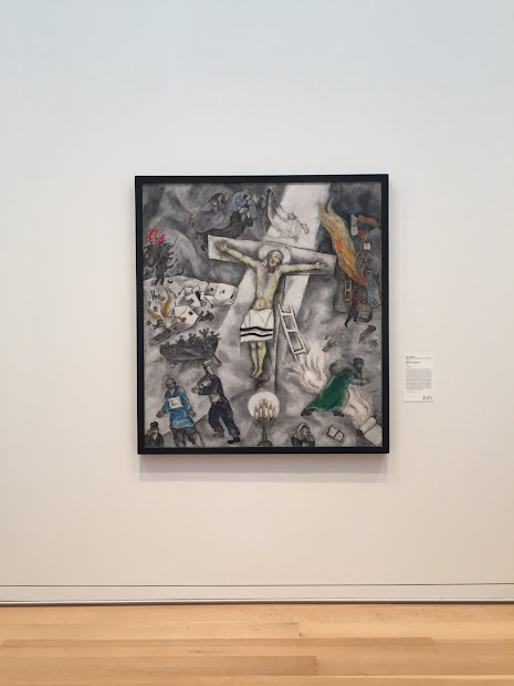 Pope Francis' Favorite Painting Chagall' White Crucifixion Returns Art Institute Of