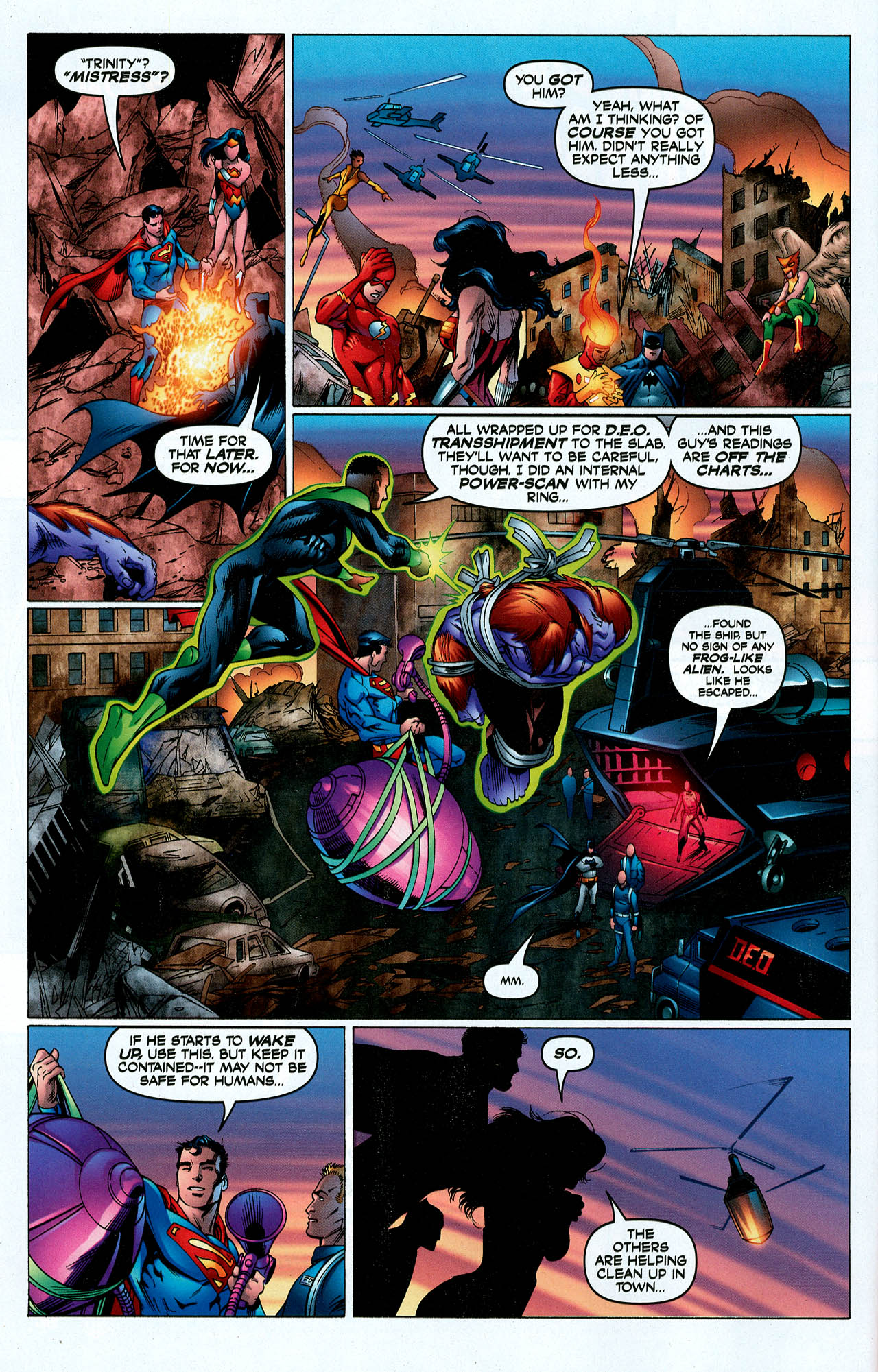 Read online Trinity (2008) comic -  Issue #5 - 16