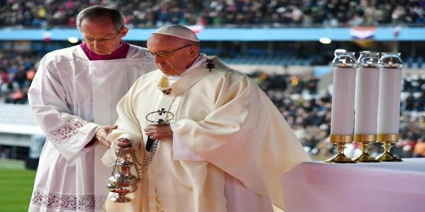 Papa Francisco apuesta por el diálogo en Venezuela