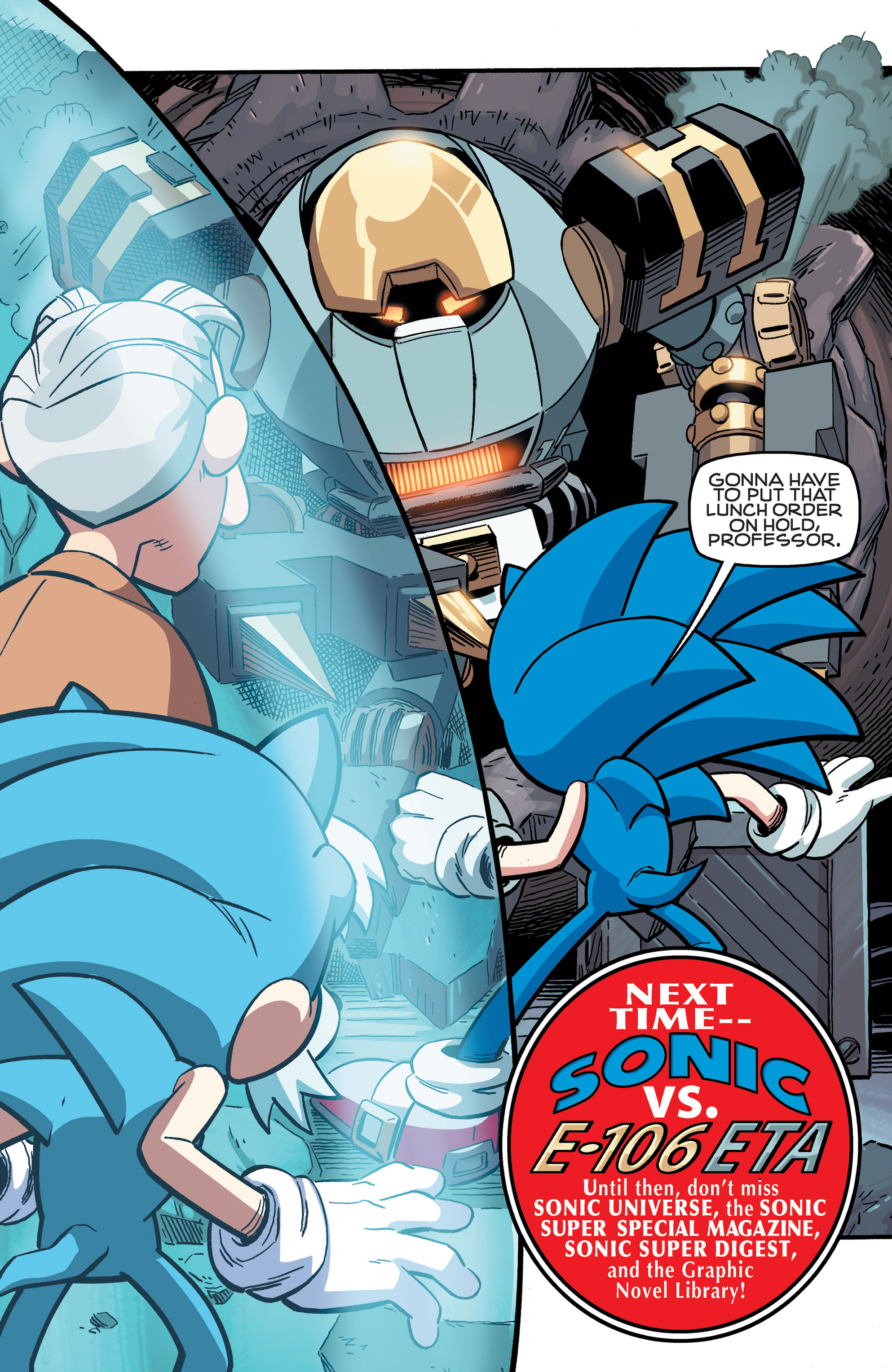 Read online Sonic The Hedgehog comic -  Issue #258 - 25