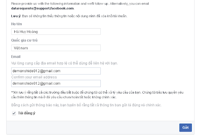 TUT VERIFY ACCOUNT FACEBOOK MAX CHẤT 2017