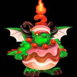 imagen del dragon aniversario de dragon city