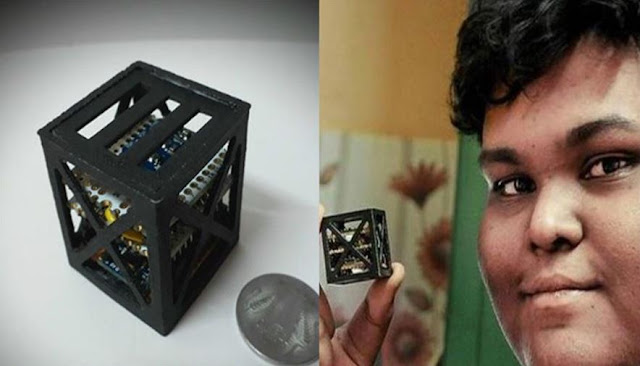 KalamSat : NASA Launches World's Smallest Satellite Developed By 18-yr Old Student from TN | TekkiPedia