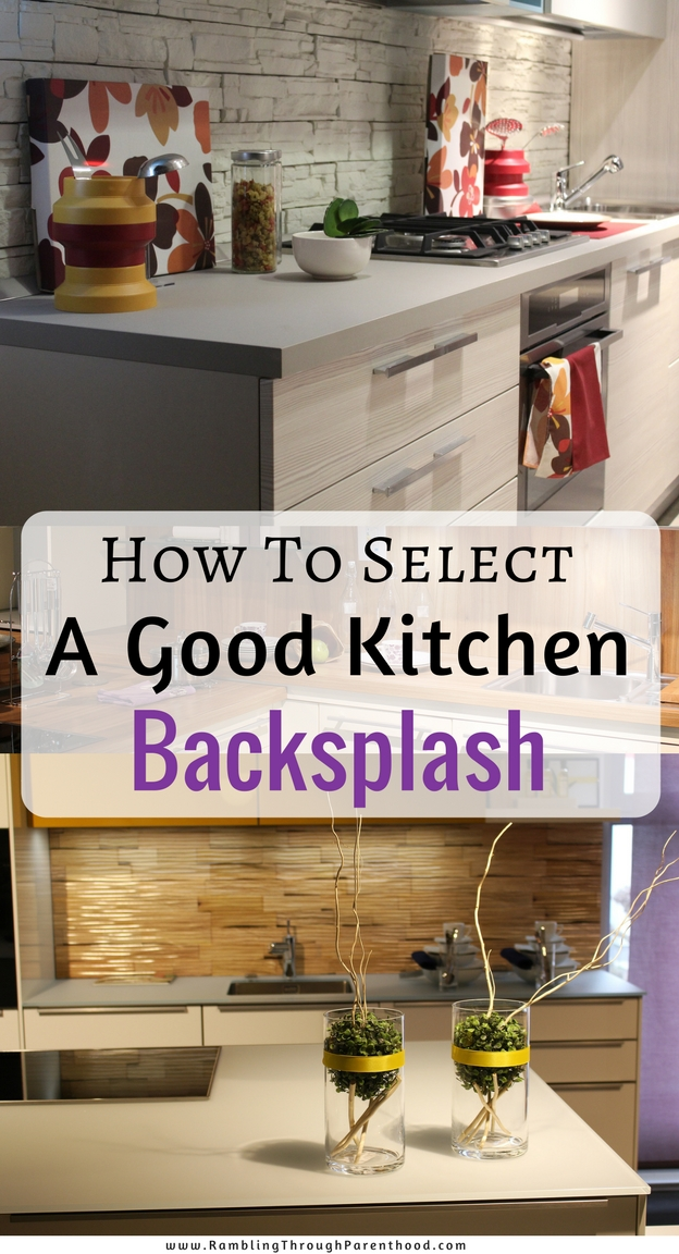Kitchen backsplashes are not just pretty, they have another very important benefit – keeping food off of your walls! Over the years they have developed into more of a design statement. Here are all the things to consider when selecting a good kitchen backsplash for your home.