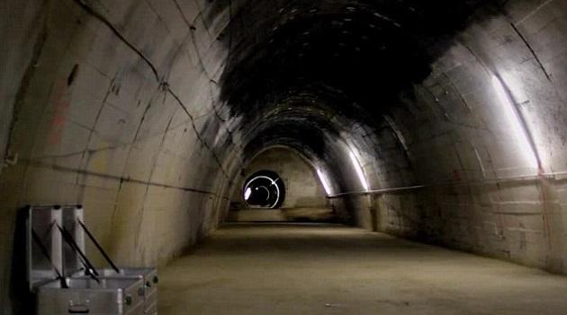Cidade subterrânea de Hitler