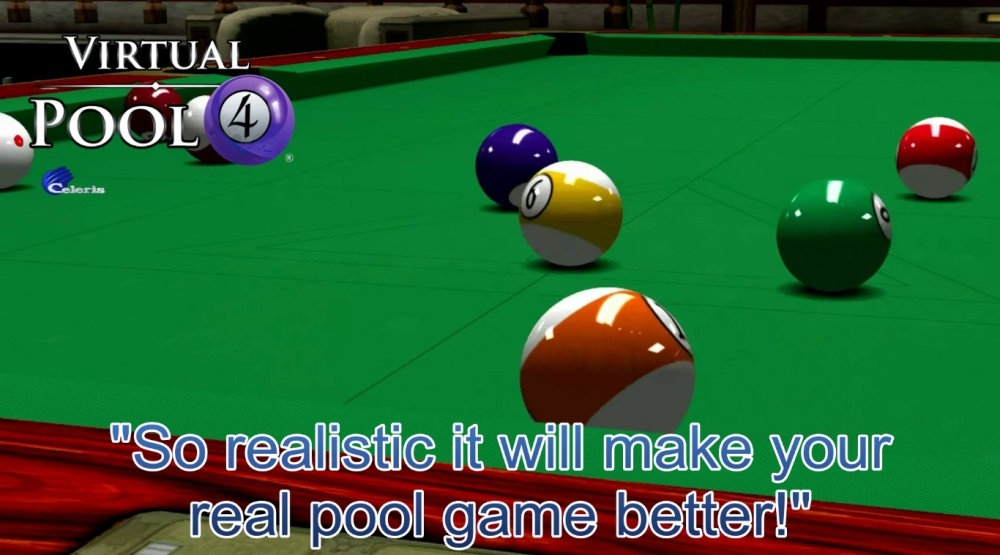 Virtual Pool 4 Download Poster