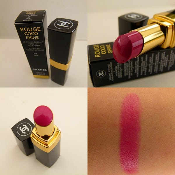 Mein Chanel Rouge Coco Shine Lippenstift Viva - mit Review und Swatches