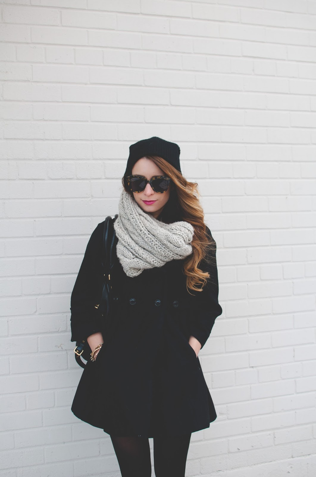 my winter uniform winter ootd la petite noob a. Black Bedroom Furniture Sets. Home Design Ideas