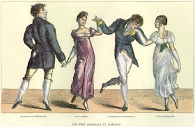 The first quadrille at Almack's from The Reminiscences and Recollections of Captain Gronow (1889)
