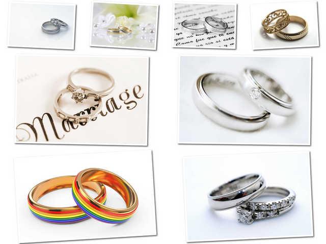 8 صور مختلفة لخاتم الزفاف بجودة عالية