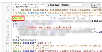 pengertian page level-ads (Iklan tingkat laman) dan cara pemasangannya