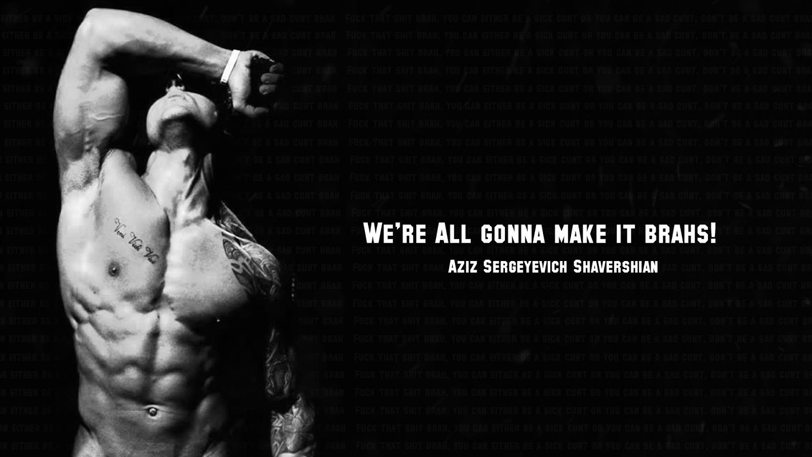 Lazar Angelov Quotes Wallpaper Aziz Shavershian Zyzz An Inspiration To Millions