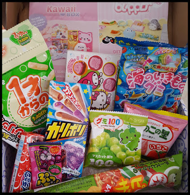 Japan Candy Box Contents