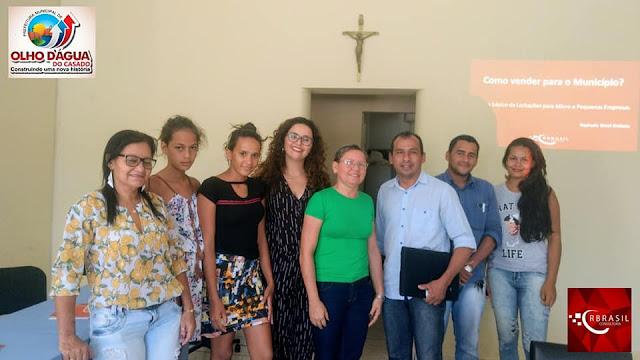 Prefeitura de Olho D'Água do Casado, realiza último  curso da ação Dezembro Empreendedor no município