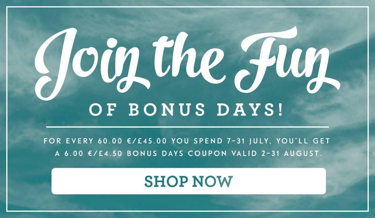 vergeet de bonus dagen niet je kunt nog tot eind juli een coupon voor 6 euro krijgen bij een. Black Bedroom Furniture Sets. Home Design Ideas