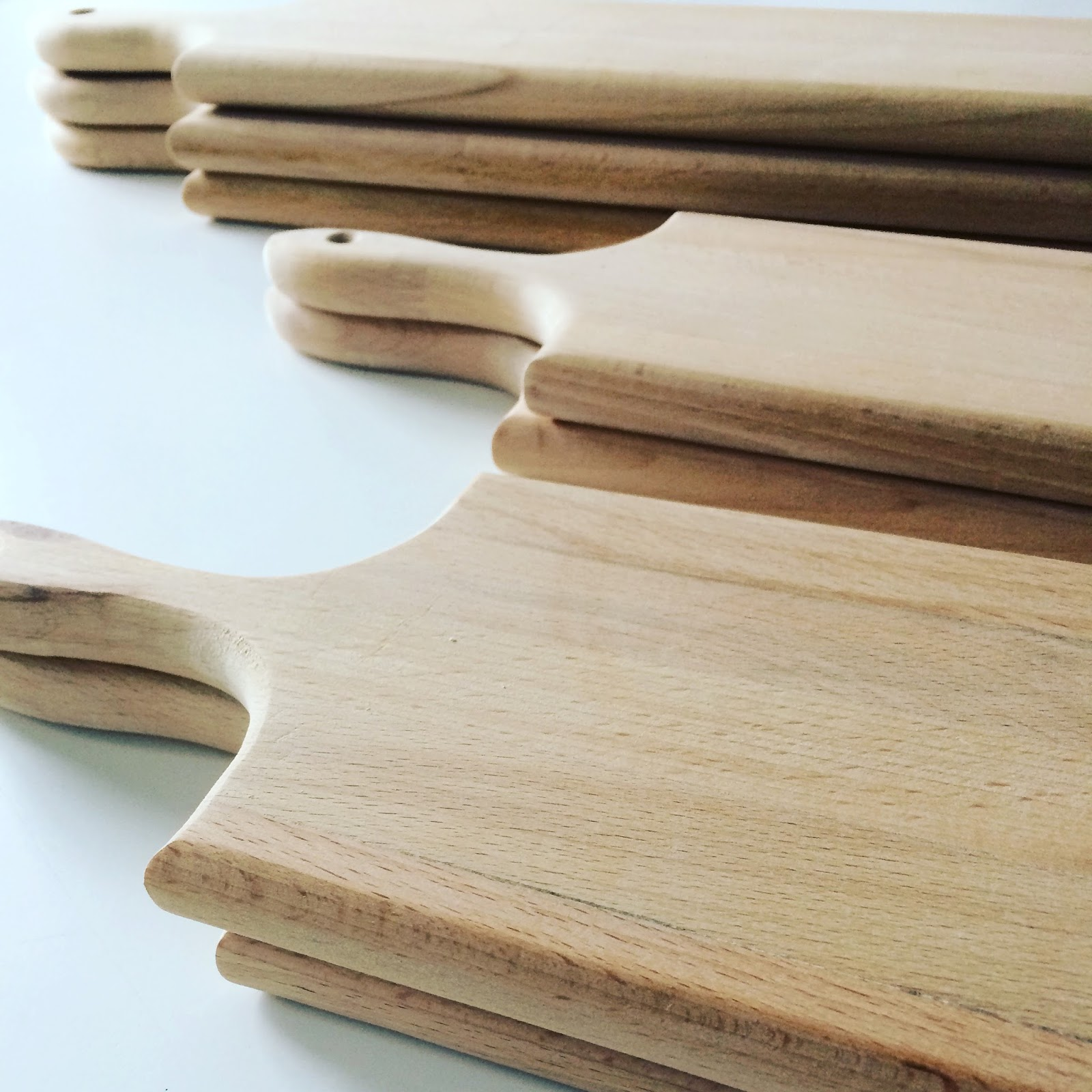 hand crafted wooden chopping or serving boards from the white approach