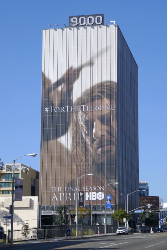 Ned Stark Game of Thrones final season billboard